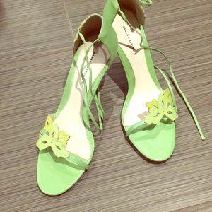 Banana Republic floral sandal